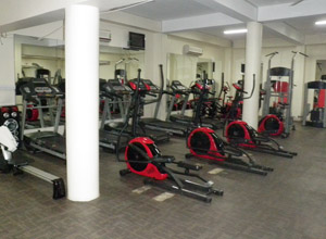 The Manor hotel Gym in Kagli