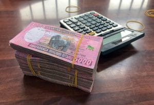 Withdrawing Money in Kigali