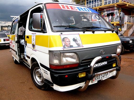Taking the Matatu Kigali