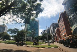 Living in Town, Kigali