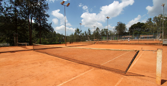 Tennis in Kigali at Cercle Sportif