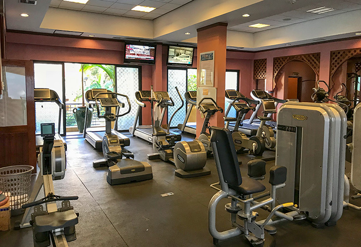 Gyms in Kigali, Serena Hotel
