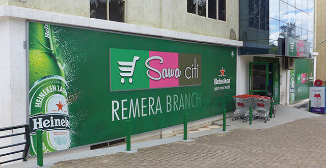 Sawa Citi Supermarket in Kigali