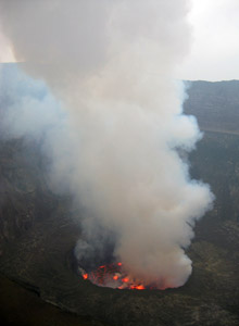Hiking Nyiragongo Volcano Goma