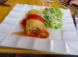 Roll=Up Lasagna - Rwf 4,000