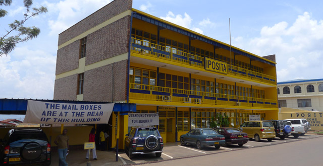 Post Office in Kigali