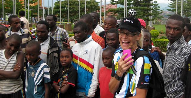 Kimberly of Team Rwanda