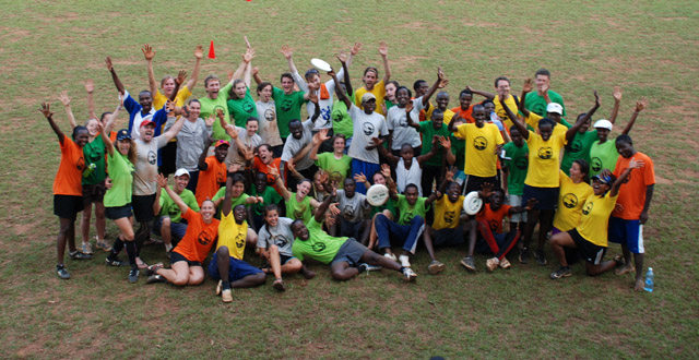 Ultimate Frisbee in Kigali