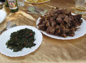 Nyama Choma & Sukuma Wiki