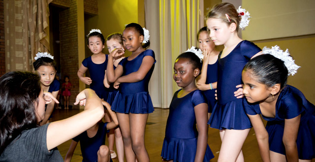 Carolina from Ballet Rwanda