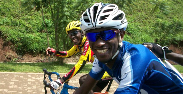 Obed from Team Rwanda