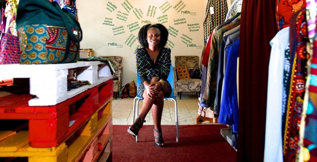Jojo from Rwanda CLothing Company