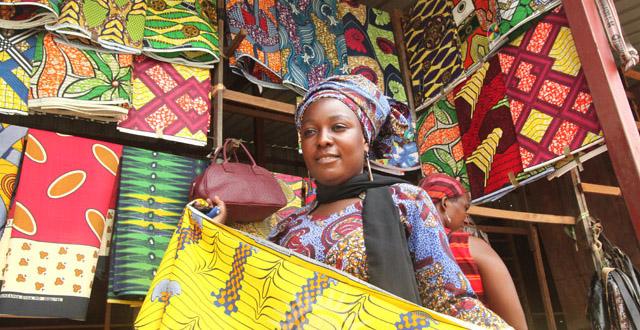 Rwandan souvenirs - Fabric