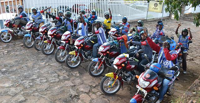 Safe Motos, Kigali, Rwanda