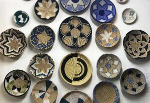 Rwandan Souvenirs, Peace Baskets