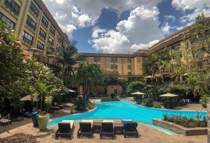 Serena Hotel, Swimming Pools in Kigali