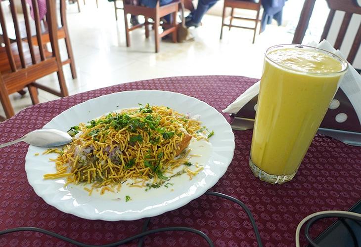 Papri Chaat, Fat Mama's Kitchen, Kigali